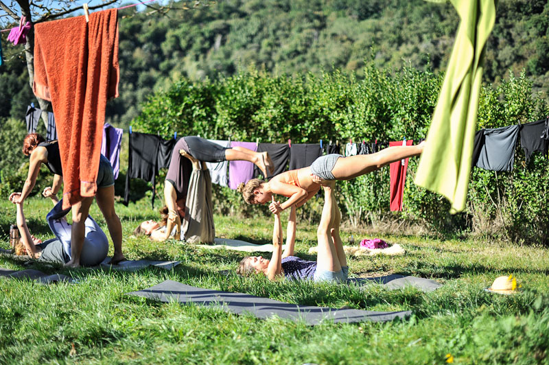 Yogaretreat Italien