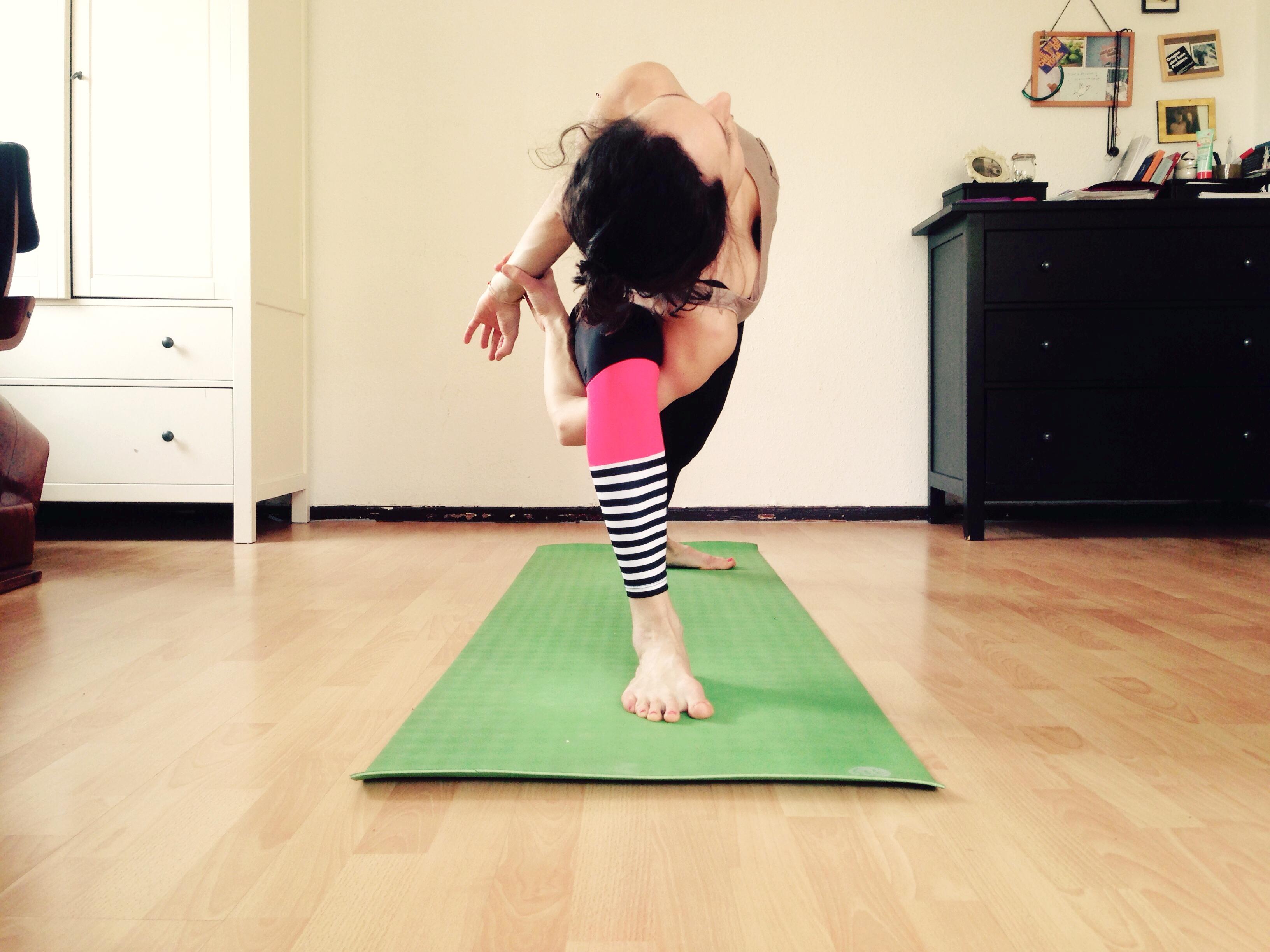 Yoga Praxis zu Hause